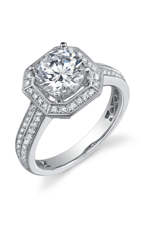 Sylvie Halo Engagement ring SY181-0041/APL product image