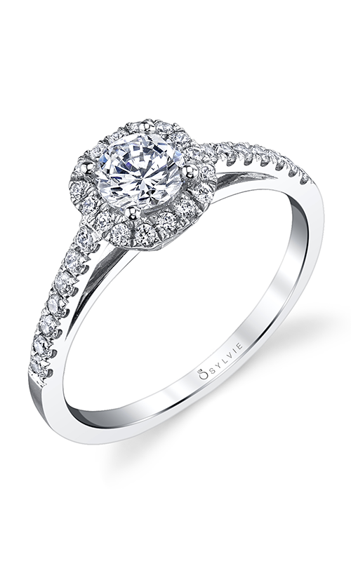 Sylvie Halo Engagement ring SY728-0034/APL product image