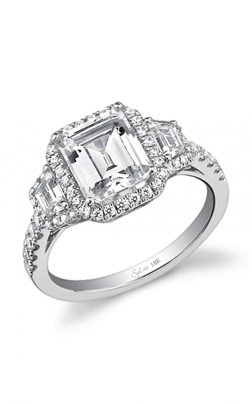 Sylvie Halo Engagement ring SY475S-0073/APL product image