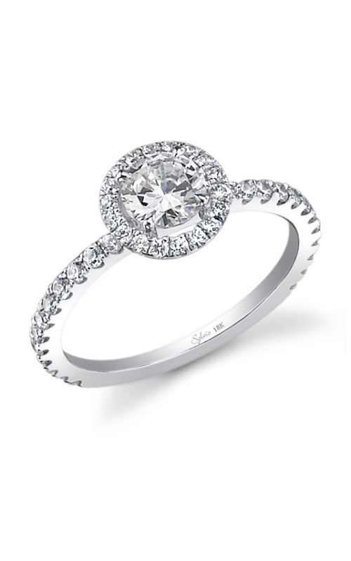 Sylvie Halo Engagement ring SY286-035APL10R product image