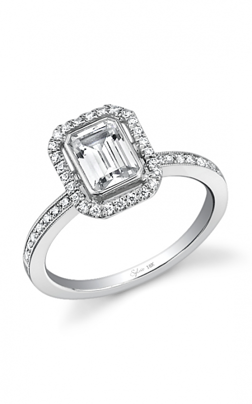 Sylvie Halo Engagement ring SY436-0029/APL product image