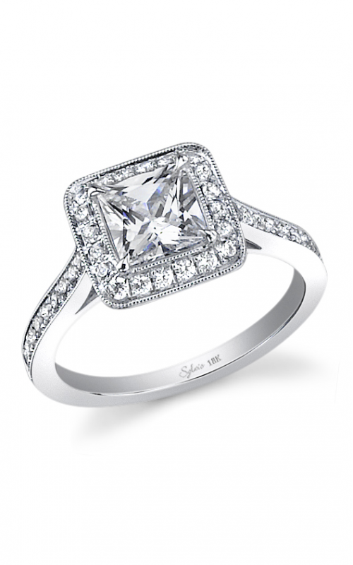 Sylvie Halo Engagement ring SY310-0039/SCZ product image