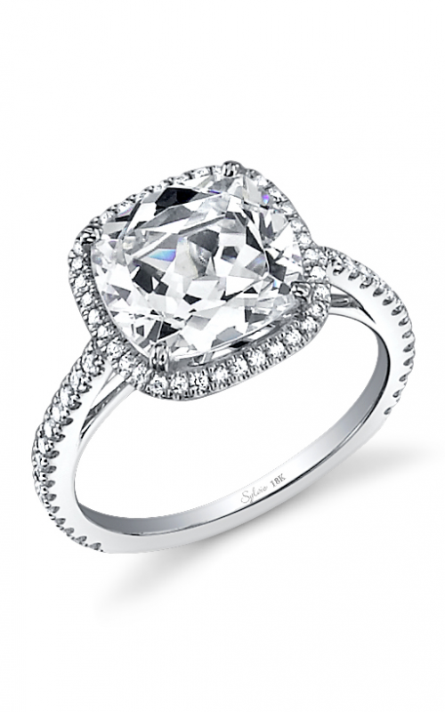 Sylvie Halo Engagement ring SY395-0047/A4W product image