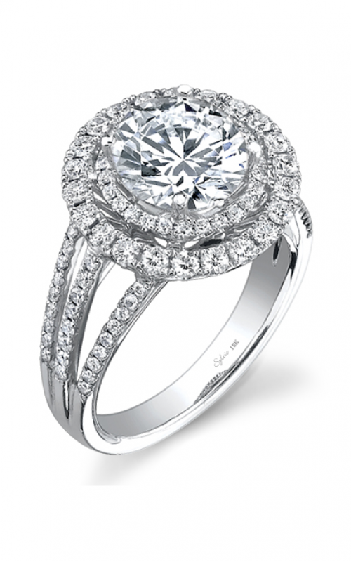 Sylvie Halo Engagement ring SY108-0094/A8W product image