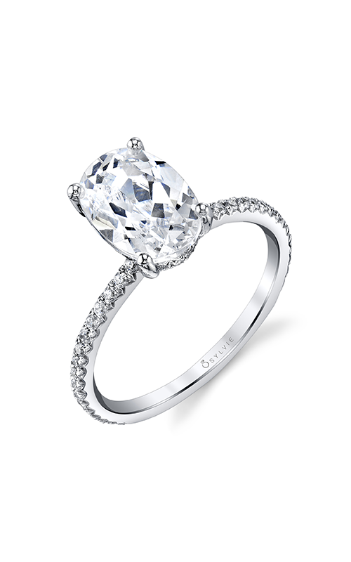 Sylvie Sidestone Engagement ring S2093-037A4W20O product image