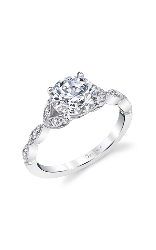 Sylvie Engagement ring Sidestone S1925-008A4W15R product image