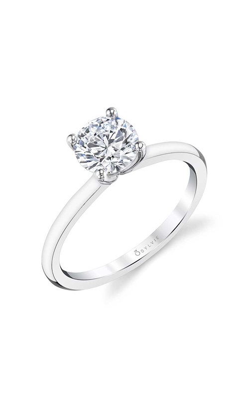 Sylvie Solitaire Engagement ring S1955-005A8W10R product image