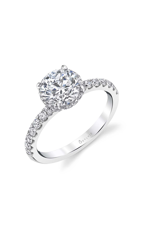 Sylvie Engagement ring Sidestone S1972-046A4W15R product image
