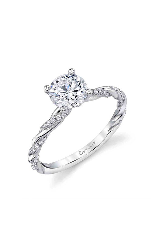 Sylvie Sidestone Engagement ring S1975-015A4W10R product image