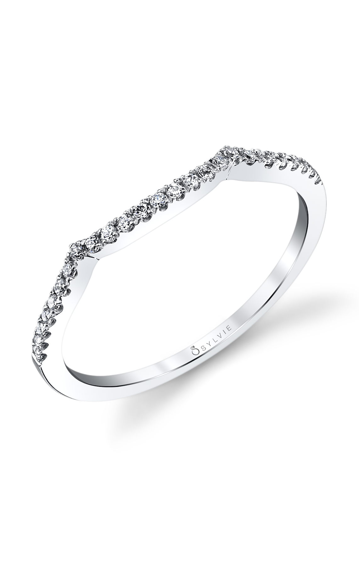 Sylvie Wedding Bands BS1078-14A4W10R product image