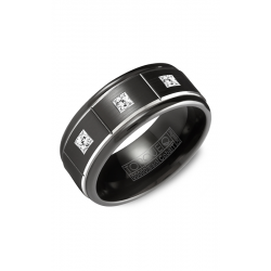 Torque Black Cobalt Wedding Band CBB-2132 product image