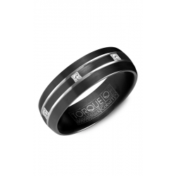 Torque Black Cobalt Wedding Band CBB-2133 product image