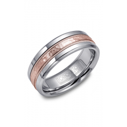 Torque Cobalt And Gold Wedding Band CW003MR75 product image