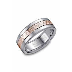 Torque Cobalt And Gold Wedding Band CW005MR75 product image