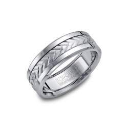 Torque Cobalt And Gold Wedding Band CW007MW75 product image