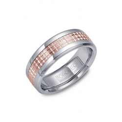 Torque Cobalt And Gold Wedding Band CW009MR75 product image
