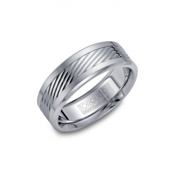 Torque Cobalt And Gold Wedding Band CW015MW75 product image