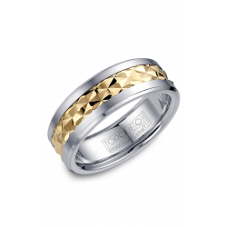 Torque Cobalt And Gold Wedding Band CW017MY75 product image