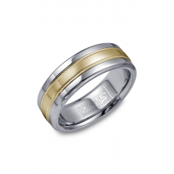 Torque Cobalt And Gold Wedding Band CW020MY75 product image