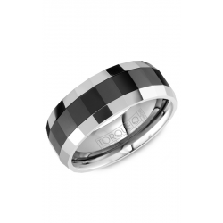 Torque Black Ceramic Wedding Band TU-0032 product image