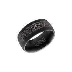 Torque Black Cobalt Wedding Band CBB-2029 product image