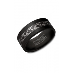 Torque Black Cobalt Wedding Band CBB-9000-28 product image