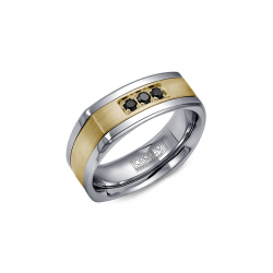 Torque Cobalt And Gold Wedding Band CW053MY75 product image