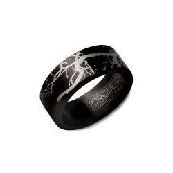 Torque Black Cobalt Wedding Band CBB-9000-56 product image
