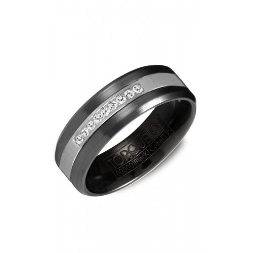 Torque Black Cobalt Wedding band CBB-2131 product image
