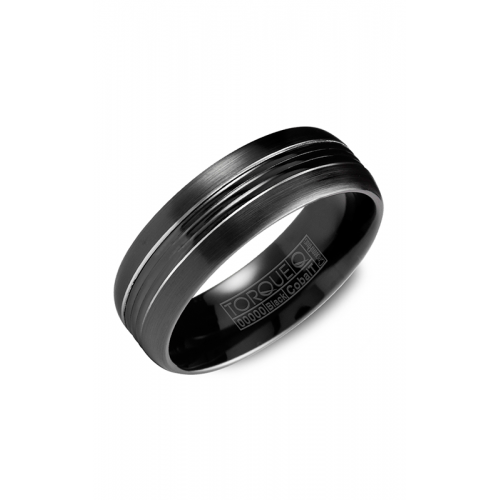 Torque Black Cobalt Wedding band CBB-7029 product image
