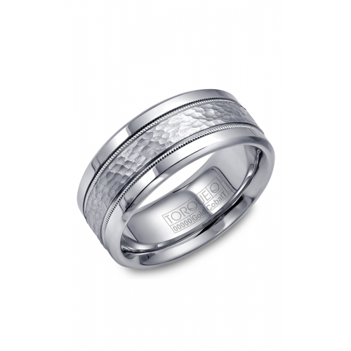 Torque Cobalt and Gold Wedding band CW003MW9 product image