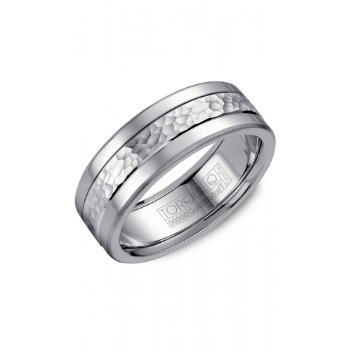 Torque Cobalt and Gold Wedding band CW005MW75 product image