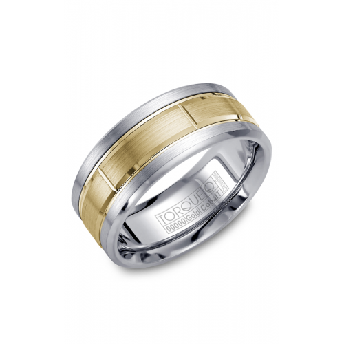 Torque Cobalt and Gold Wedding band CW008MY9 product image