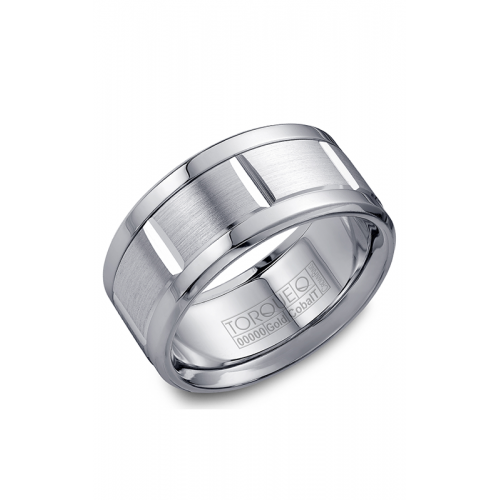 Torque Cobalt and Gold Wedding band CW010MW105 product image