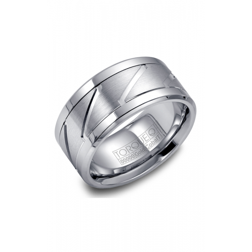 Torque Cobalt and Gold Wedding band CW013MW105 product image