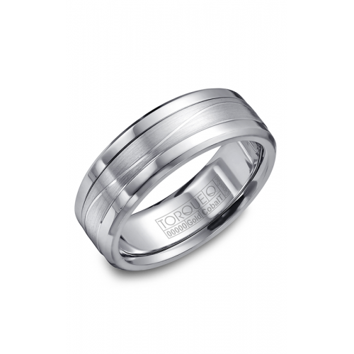 Torque Cobalt and Gold Wedding band CW014MW75 product image