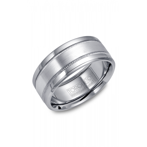 Torque Cobalt and Gold Wedding band CW022MW9 product image