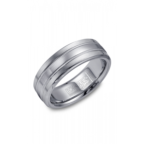 Torque Cobalt and Gold Wedding band CW022MW75 product image