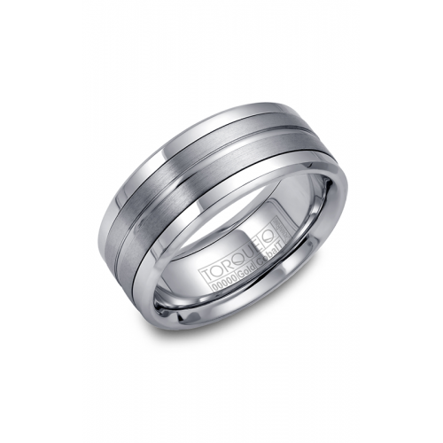 Torque Cobalt and Gold Wedding band CW023MW9 product image