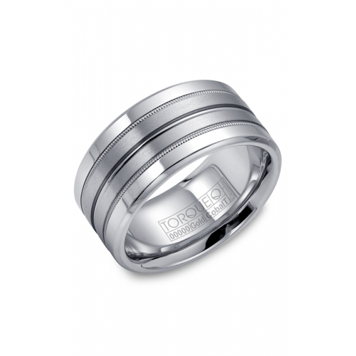 Torque Cobalt and Gold Wedding band CW025MW105 product image