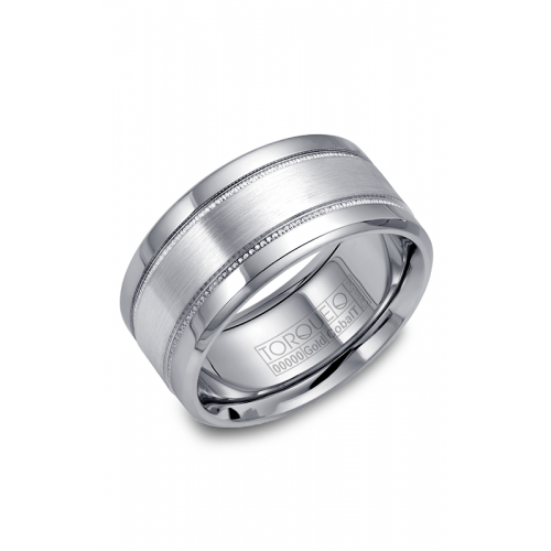 Torque Cobalt and Gold Wedding band CW029MW105 product image