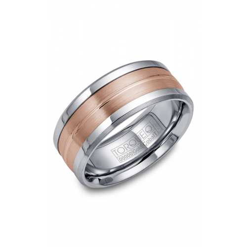 Torque Cobalt and Gold Wedding band CW031MR9 product image