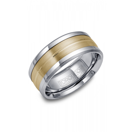 Torque Cobalt and Gold Wedding band CW031MY9 product image