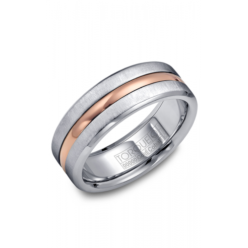 Torque Cobalt and Gold Wedding band CW037MR75 product image