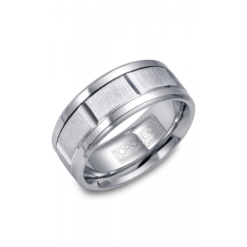 Torque Cobalt and Gold Wedding band CW043MW9 product image