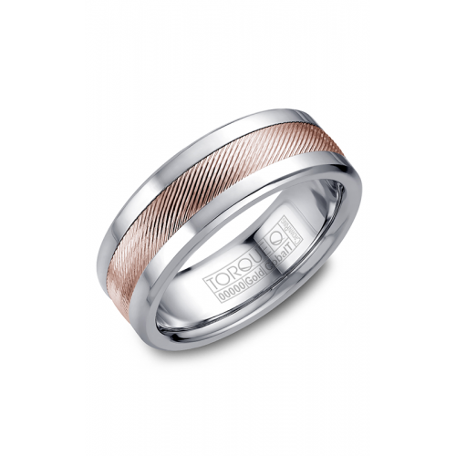 Torque Cobalt and Gold Wedding band CW044MR75 product image
