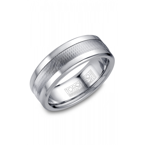 Torque Cobalt and Gold Wedding band CW044MW75 product image