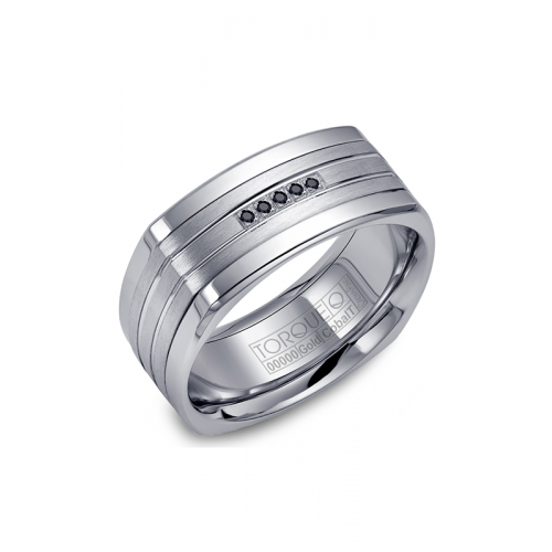 Torque Cobalt and Gold Wedding band CW055MW9 product image