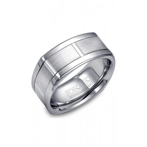 Torque Cobalt and Gold Wedding band CW059MW9 product image