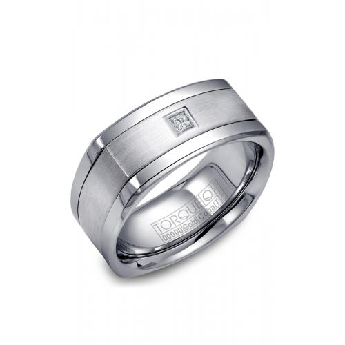 Torque Cobalt and Gold Wedding band CW065MW9 product image